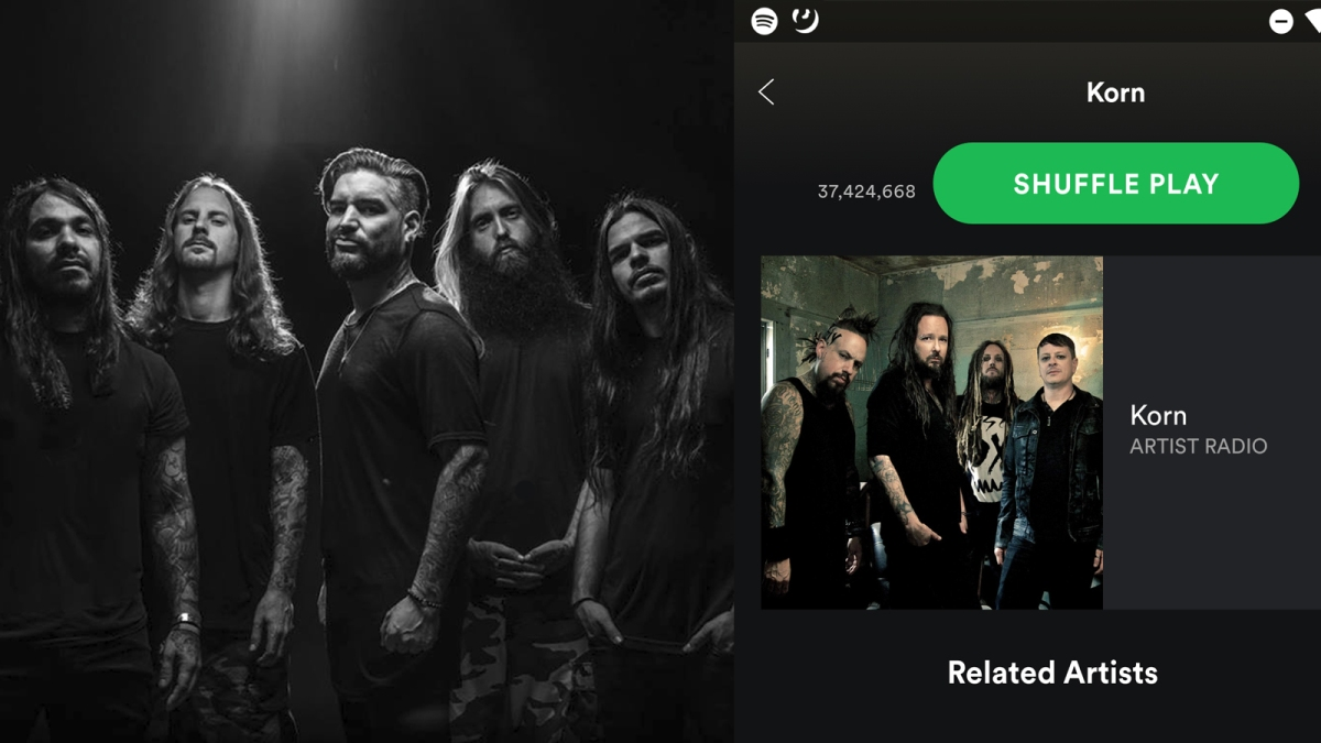 Suicide Silence Are Now A Related Artist On Korn's Spotify…