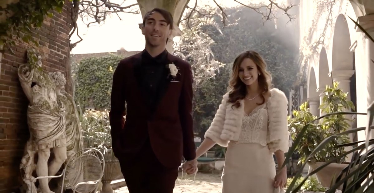 Watch The Official Wedding Video Of All Time Low's Alex Gaskarth & Lisa Ruocco